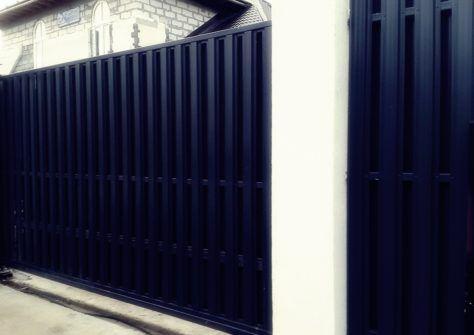 Откатные ворота Екатеринбург