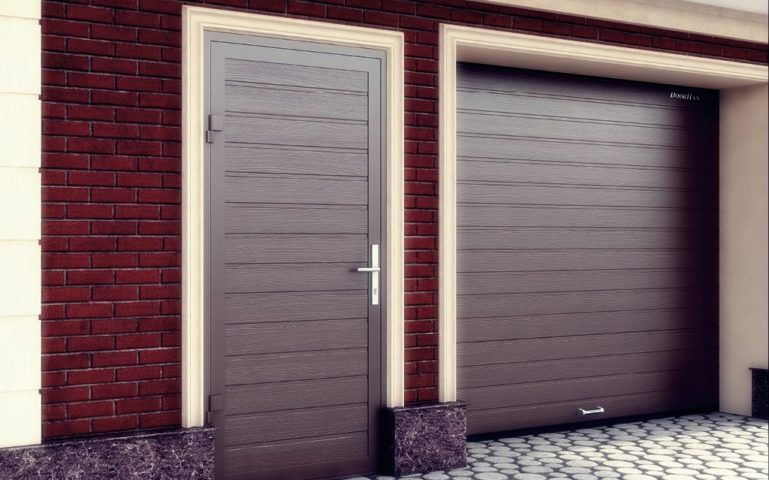 гаражная дверь Екатеринбург