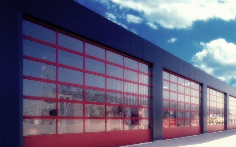 Панорамные промышленные ворота Екатеринбург