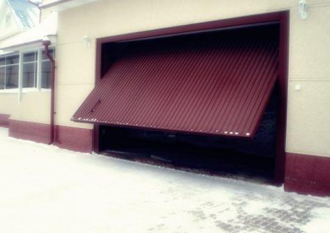 Подъемно-поворотные гаражные ворота Екатеринбург