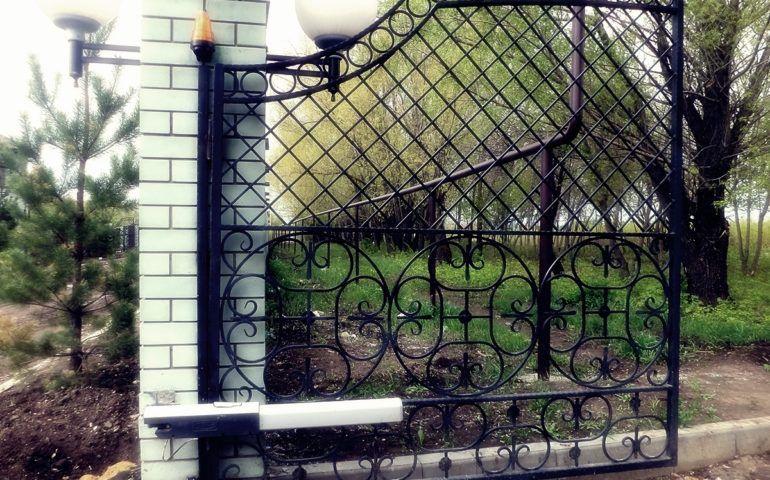 Приводы для распашных ворот Екатеринбург