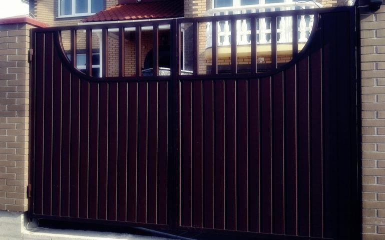 Распашные ворота Екатеринбург